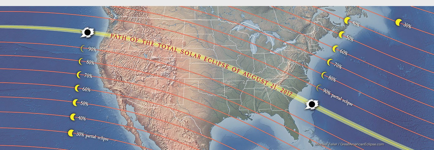 Total Solar Eclipse To Span U S For 1st Time Since 1918